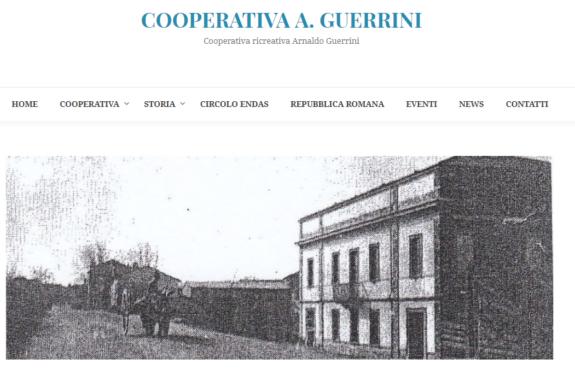 Online il sito della Cooperativa